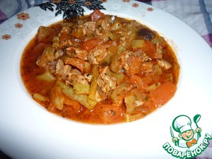 Рецепт Баклажаны с мясом
