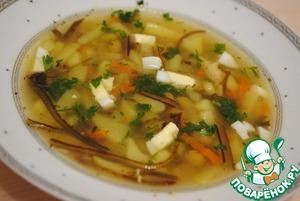 Рецепт Суп из морской капусты