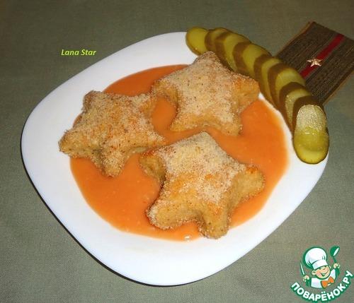 Куриные котлеты с начинкой из гречки и лука – кулинарный рецепт