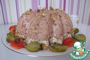 Рецепт Фасолевый паштет с грецкими орехами