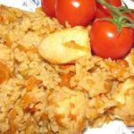 Куриная грудка с рисом