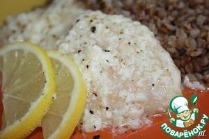 Рецепт Куриные грудки с кремом из молока и лимона