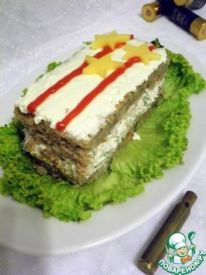 """Рецепт Закусочные пирожные """"Офицерские"""""""