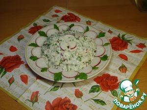 Рецепт Салат "Весенняя ромашка"