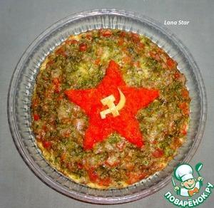 """Рисовая пицца """"Советская"""""""