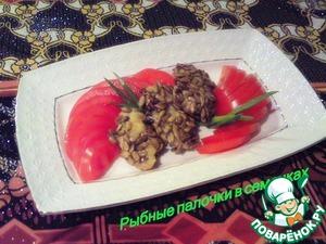 Рецепт Рыбные палочки в семечках