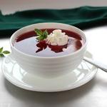 Вишневый суп