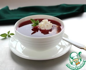 Рецепт Вишневый суп