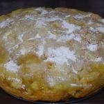 Яблочный пирог с ароматом рома и цитрусов