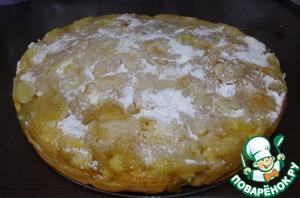 Рецепт Яблочный пирог с ароматом рома и цитрусов