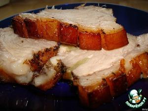 Рецепт Свинина с хрустящей корочкой
