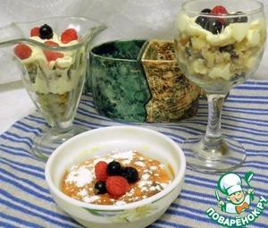 Рецепт Два десерта из гречки и творога