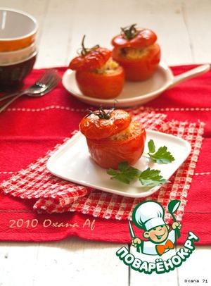 Рецепт Фаршированные помидоры рисом и креветками