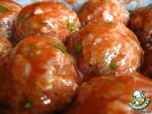 Рецепт Тефтели с гречкой под томатным соусом