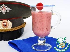 Рецепт Фруктово-ягодный коктейль с проростками зеленой гречки