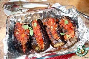 Рецепт Баклажаны с овощами по старинному родосскому рецепту