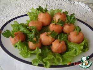 """Рецепт Закуска """"Молодильные яблочки"""""""