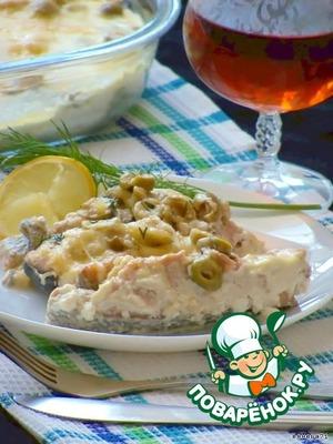 Рецепт Запеченная рыба с оливками