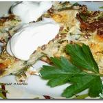 Капустные оладьи с сыром в духовке