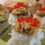 Японский омлет на рисовой подушке