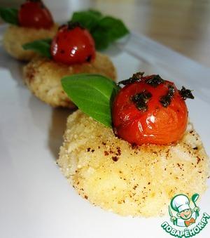 Рецепт Пряная закуска в итальянском стиле с черри, моцареллой и базиликом