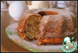 Рецепт Кекс с тахинной пастой и орехами