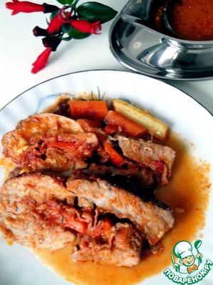 Рецепт Свинина фаршированная