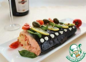 Рецепт Запеченная рыба с кус-кусом