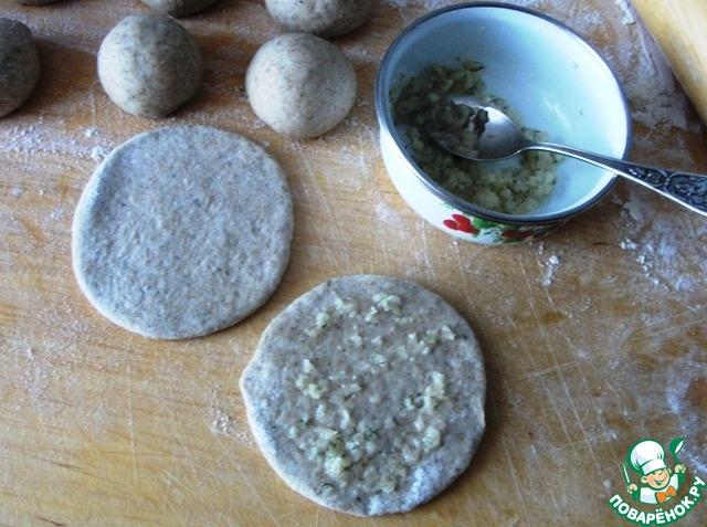 35Рецепт булочек с чесноком