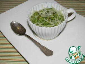 Рецепт Картофельное суфле со шпинатом