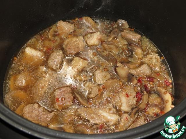 рагу в мультиварке с говядиной рецепт пошагово