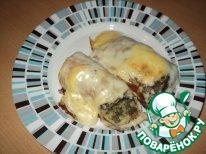 Рецепт Блинчики фаршированные под сливочным соусом
