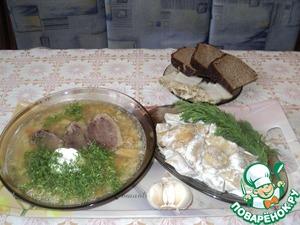 Рецепт Груздянка по-сибирски с домашним гусём