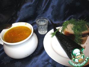 Рецепт Суп с кальмарами и рисом