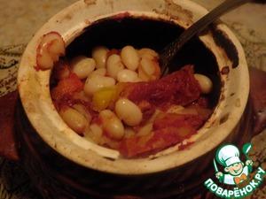 Рецепт Запеченное овощное рагу с фасолью