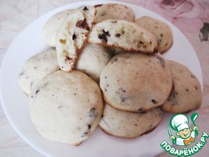 Рецепт Творожно-манное бисквитное печенье