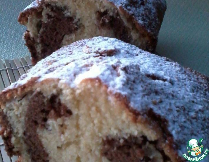 Рецепт: Кекс с орехами