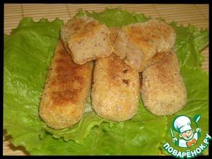 Рецепт Рыбные палочки