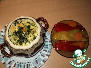 Рецепт Чудная свинина в горшочке с овощами и пекинской капустой