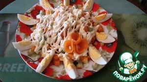 """Рецепт Салат из киви """" Весеннее настроение"""""""