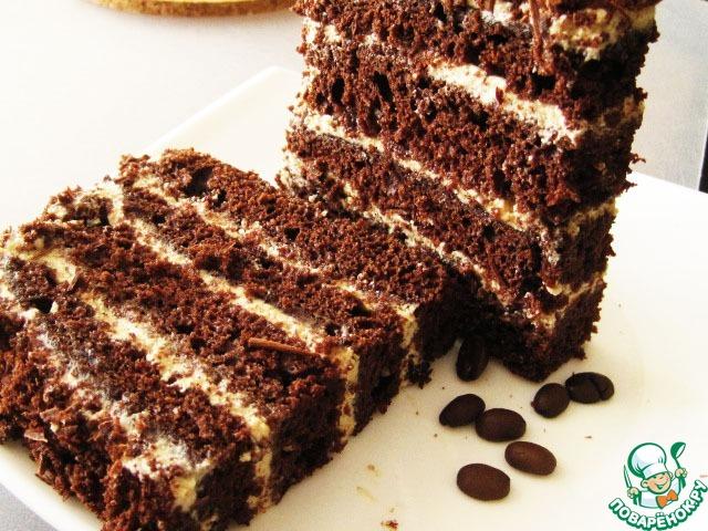 торт кофейный рецепт с фото