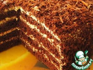 Рецепт Торт кофейно-шоколадный