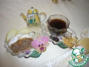 Рецепт Грушево-яблочный штрудель