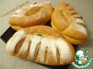 Рецепт Томатный хлеб с чесноком, сыром и зеленью