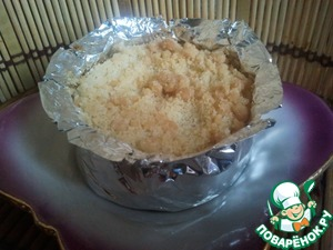 Рецепт Яблоки, запеченные под штрейзелем