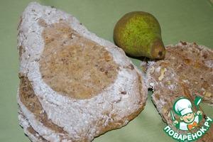 Рецепт Гречневый хлеб с грушей и орехами