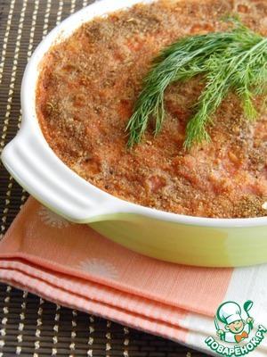 Рецепт Рисовая запеканка с говядиной