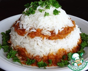 Рецепт Рис с овощной икрой