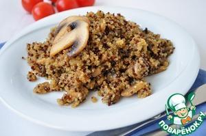 Рецепт Плов из киноа с грибами
