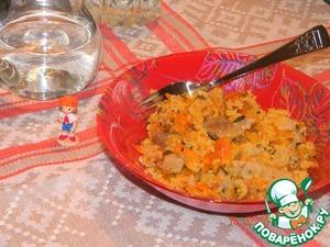 Рецепт Рагу с кус-кусом и свининой